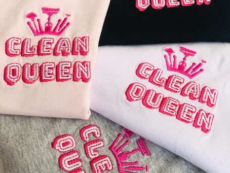The Clean Queen Collection has arrived!