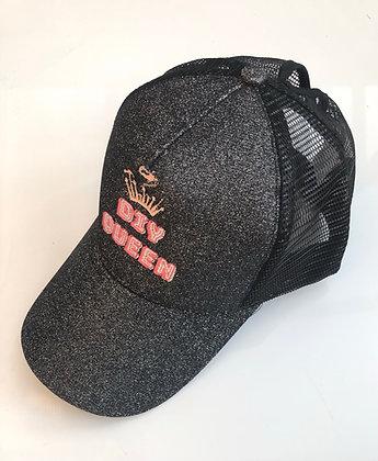 Glitter DIY Queen Trucker Cap