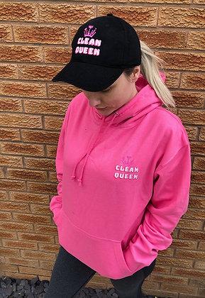 Clean Queen Pink Hoodie