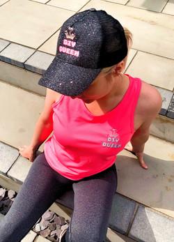 DIY Queen Hot Pink Vest