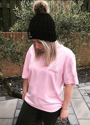 DIY Queen Comfy Tee - Pink