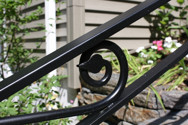 Custom Iron Crafted Railing