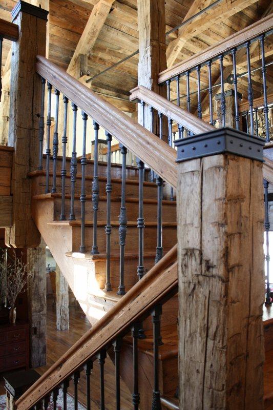 Custom Metal Stairwell