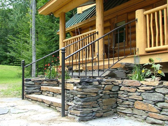Custom Metal Railings Exterior