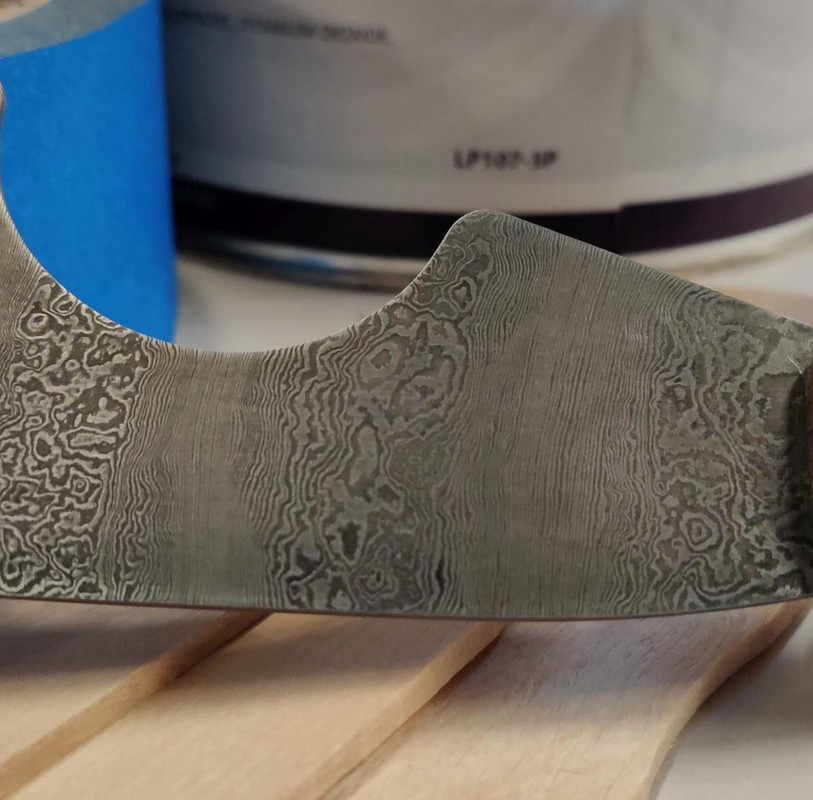 Custom Damascus Tool