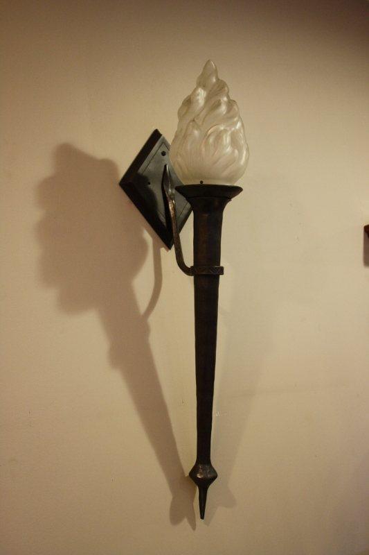 Custom Metal Wall Candleholder