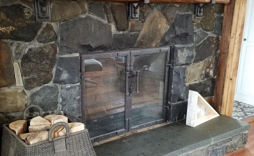 Custom Fit Fireplace Doors