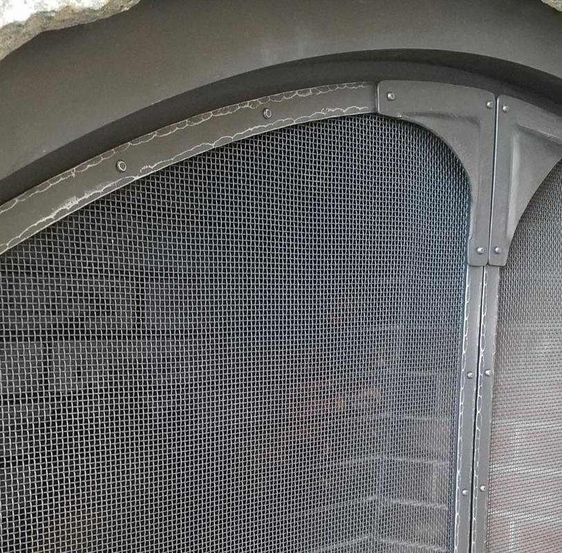 Custom Fireplace Screen Doors
