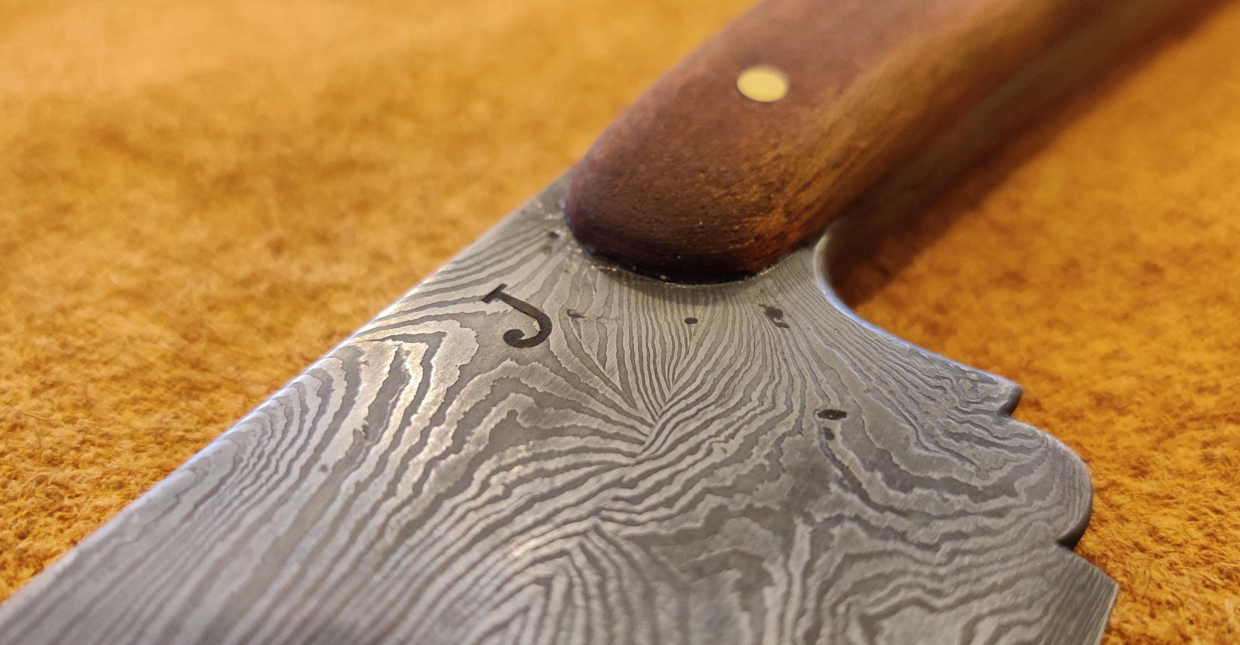 Hand Forged Kitchen Knife