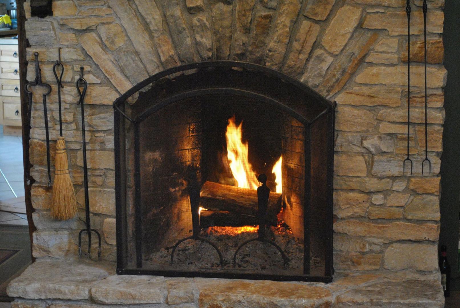 Arch Top Custom Firescreen