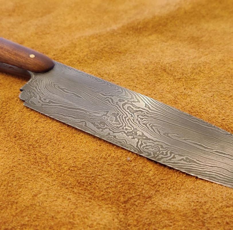 Custom Damascus Chef's Knife