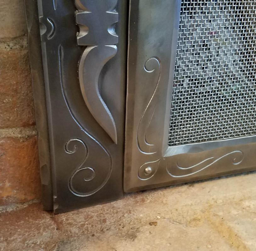 Fireplace Door Custom Detail