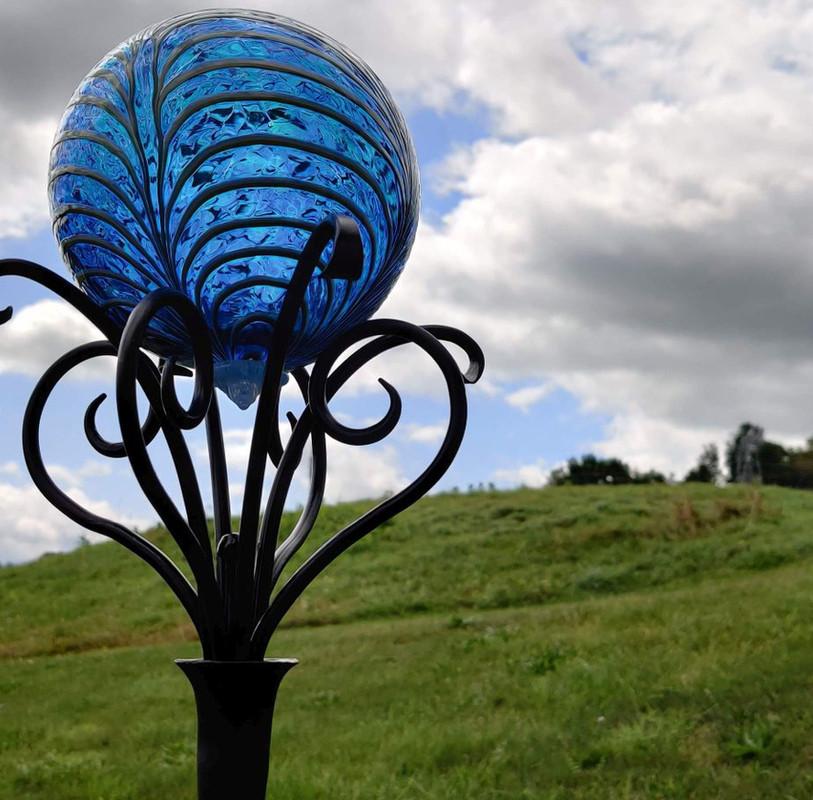 Glass Ball Holder