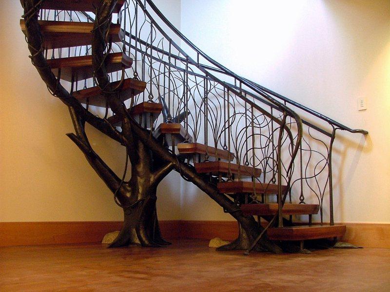 Custom Tree Staircase