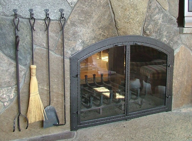 Custom Metal Fireplace Tools