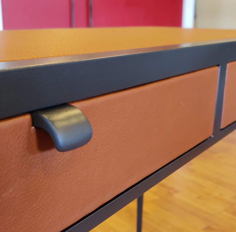 Handmade Leather Table