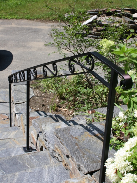 Custom Designed Exterior Railing