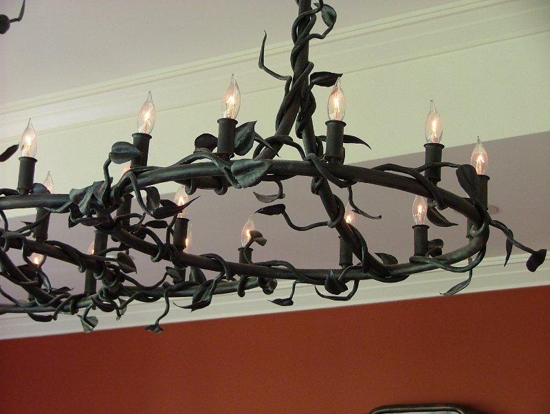 Custom Iron Lighting