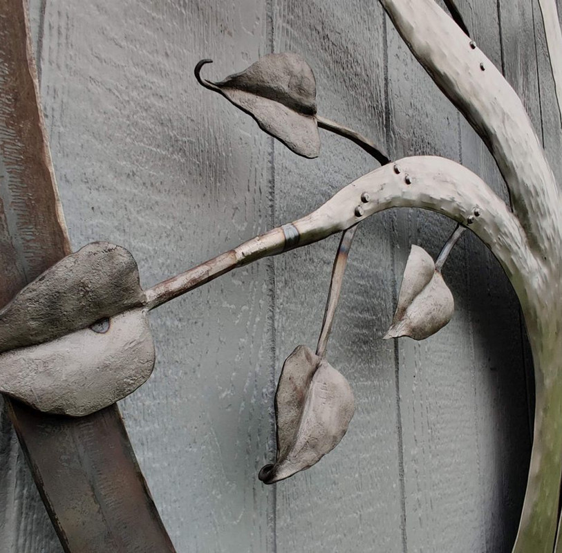 Hand Forged Steel Leaves