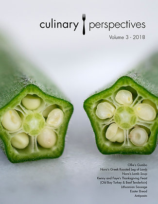 Culinary Perspectives: Volume 3 -  2018
