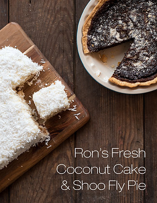 Coconut Cake / Shoo Fly Pie
