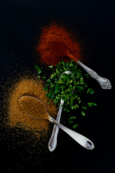Spices from Crab Quiche