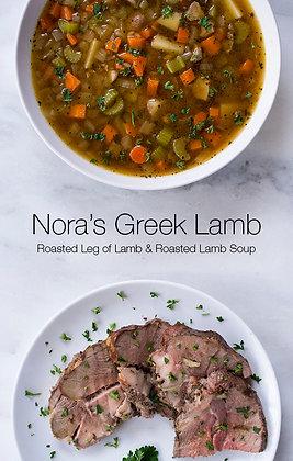 Nora's Greek Lamb