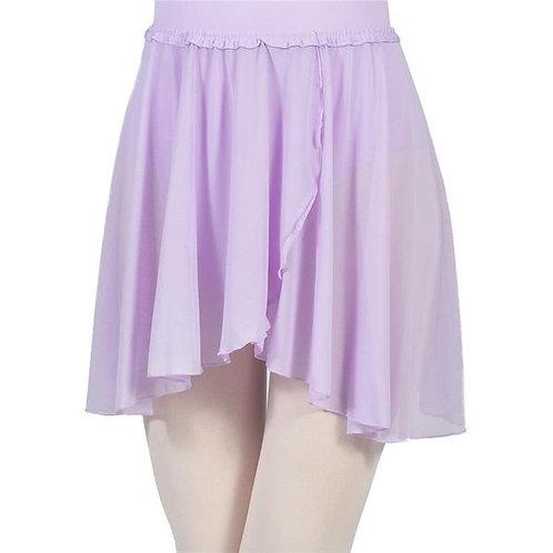 Lavender Pull On Wrap Skirt (Child)