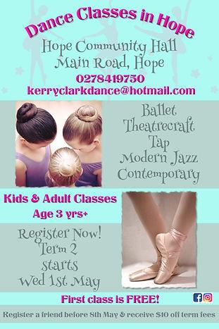 Copy of Ballet Dance Poster Flyer Templa
