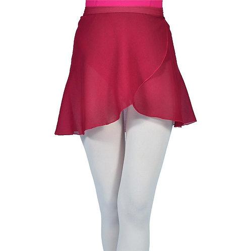 Burgundy Wrap Skirt (Child)