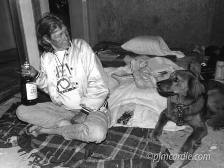 Cricket, the Forever Homeless Hippie