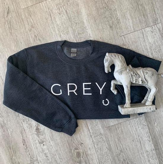 GREY - Colours Crewneck