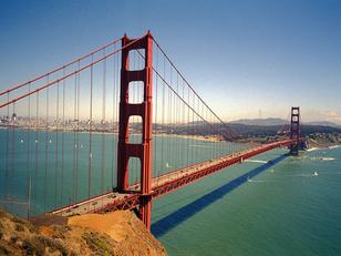 美國加州金門大橋8小時鐵馬受困記!