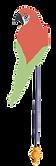 ponykarussell-ara-papagei