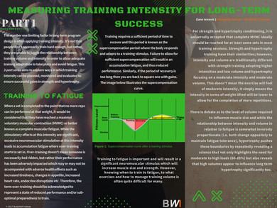 Measuring Training Intensity for Success PART 1