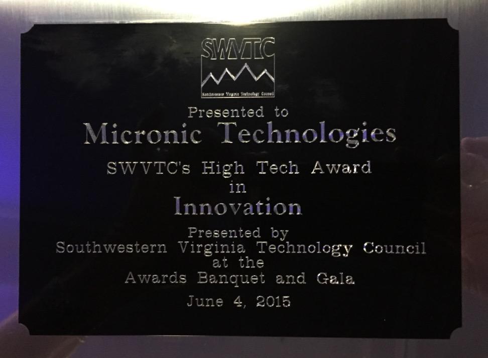 SWVA Technology Council Award