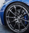 BMW scratched rims