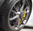 Porsche rim repairs. curb damage on porsche wheel