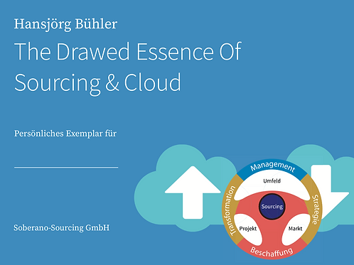 The Drawed Essence Of Sourcing & Cloud