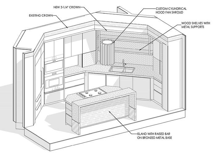 3D - Kitchen