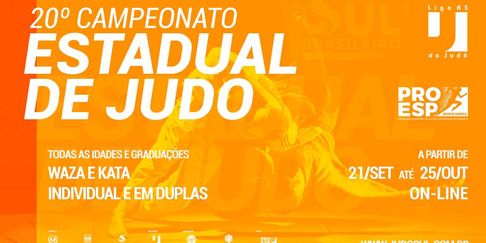 20º Campeonato Estadual de Judô