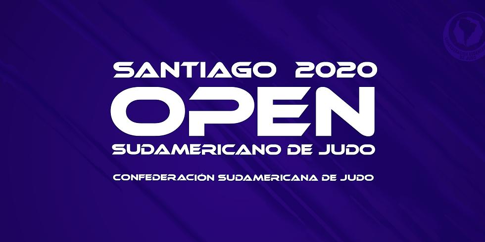 OPEN SUL-AMERICANO SÊNIOR DE JUDÔ 2020