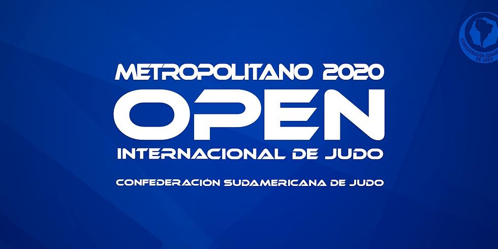 Metropolitano Open Internacional de Judô 2020