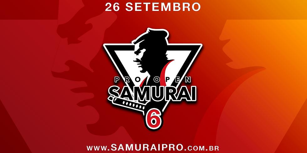 Samurai Pro Open Jiu-Jitsu 6   Circuito 2020 - 6ª etapa