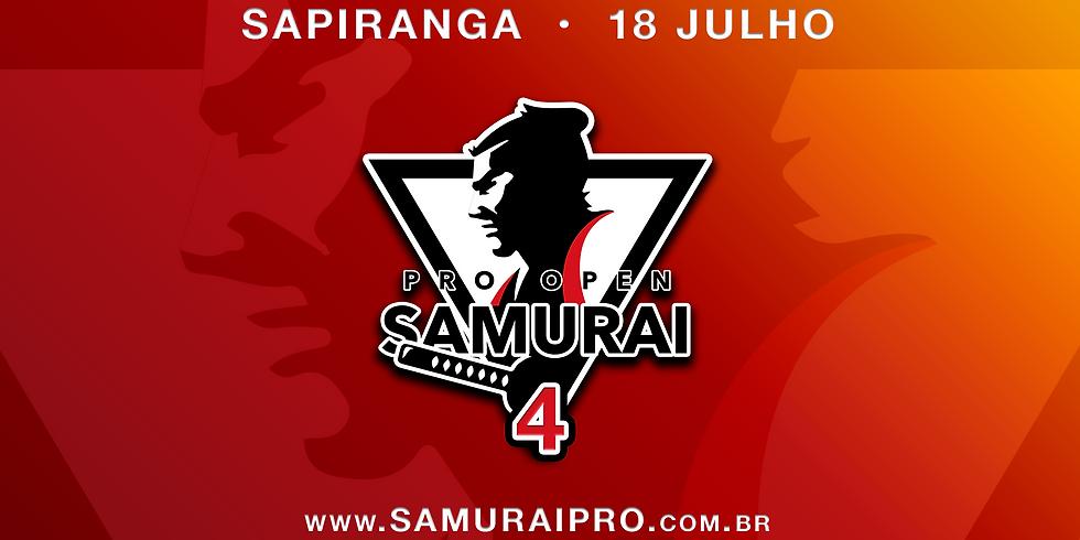 Samurai Pro Open Jiu-Jitsu 4   Circuito 2020 - 4ª etapa