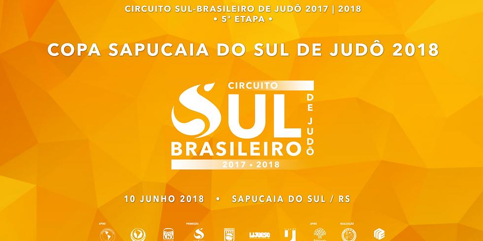 Copa Sapucaia do Sul de Judô 2018