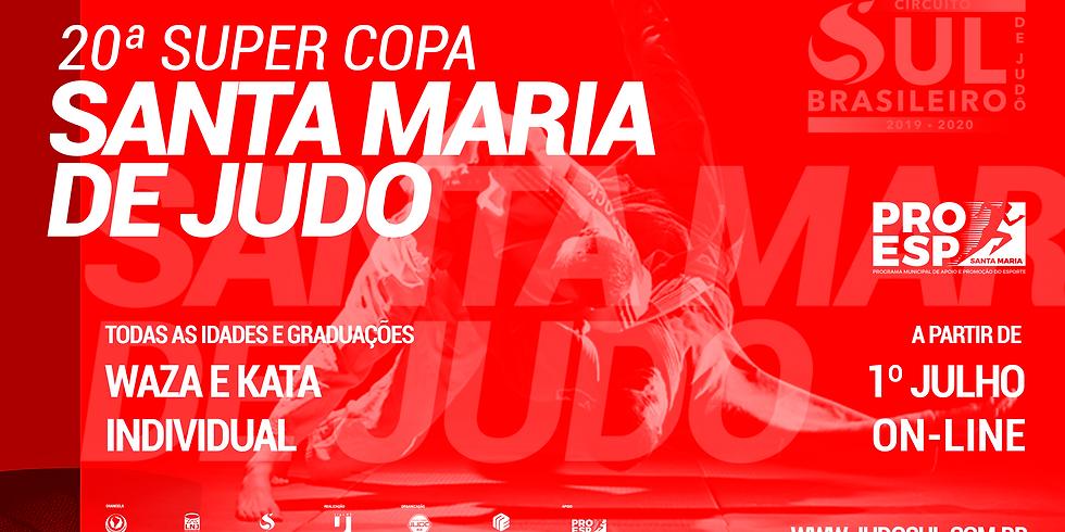 20ª Super Copa Santa Maria de Judô - Inscrições Prorrogadas