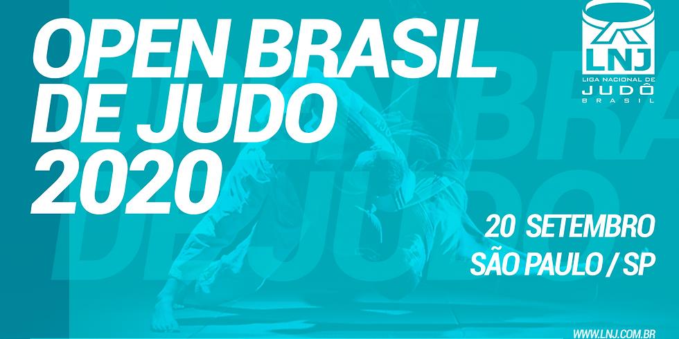 OPEN BRASIL DE JUDÔ 2020