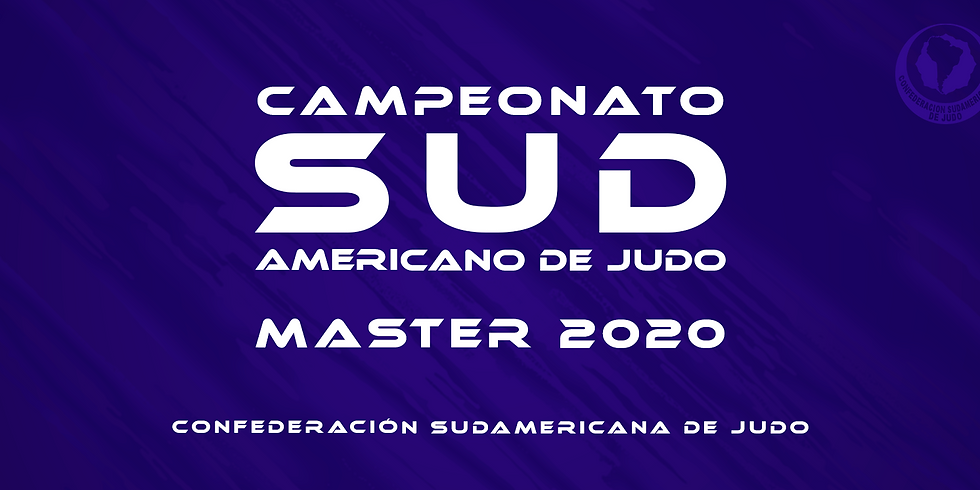 CAMPEONATO SUL-AMERICANO MASTER DE JUDÔ 2020