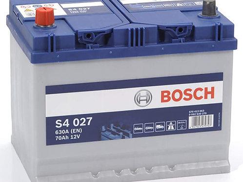 Batería Bosch 70Ah 630EN + IZQ S4027